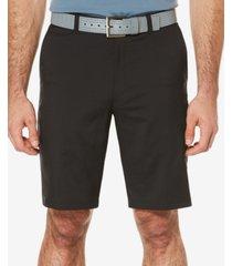 pga tour men's flat-front shorts