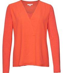 blouse farino koraal