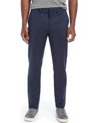 men's nordstrom non-iron flexweave men's chino pants, size 40 x 32 - blue