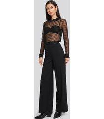 trendyol yol loose fit trousers - black