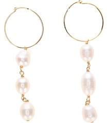 jil sander revive pearl drop earrings