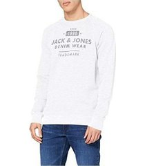 sweater jack jones jjejeans washed sweat crew neck 12164976