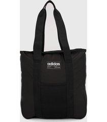 bolso negro-blanco adidas performance bb tote
