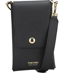 tom ford small grain leather phone envelope wallet
