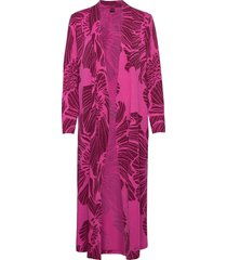 ladies dressing gown, hely morgonrock rosa nanso