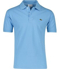 poloshirt lichtblauw lacoste classic fit