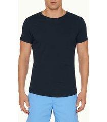 orlebar brown men's obt crew neck t-shirt - navy - s