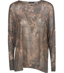 avant toi all-over printed sweater