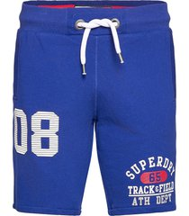 trackster lite short shorts blå superdry