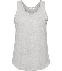 abbi t-shirts & tops sleeveless grå rabens sal r
