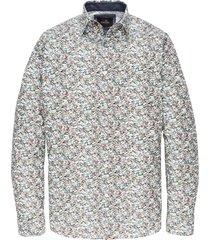 long sleeve shirt cf print blue indigo
