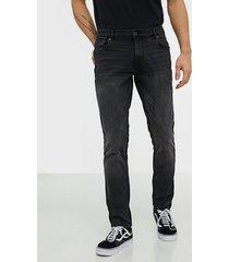 solid joy black260 str slim jeans black