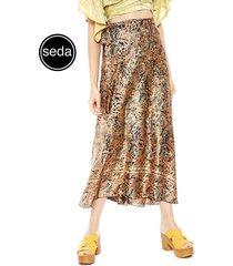 falda pippa padang multicolor - calce holgado