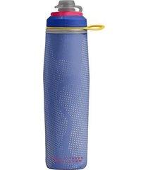 garrafa térmica camelbak peak chill 750ml jet valve academia caminhada rosa