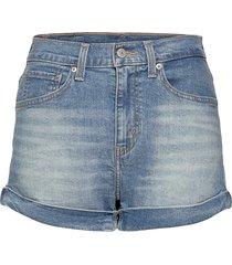 mom a line short 2 bandit blue shorts denim shorts blå levi´s women
