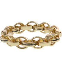 laundry by shelli segal multi-ring link stretch bracelet