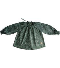 bawełniana bluzka pop z długim rękawem