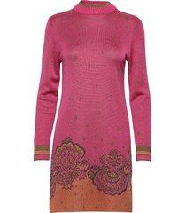free at last dress gebreide jurk roze odd molly