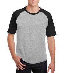 camiseta raglan partiucompras básica lisa masculina - masculino