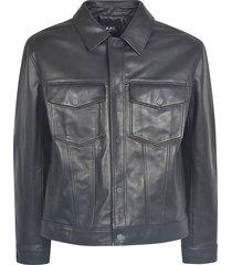 a.p.c. double buttoned pocket jacket