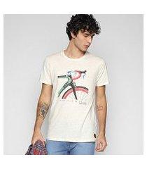 camiseta colcci básica linho expedition masculina