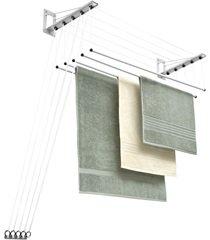 varal de teto em aço inovar 122x33cm branco