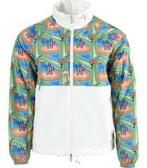 2 moncler 1952 octa color-block jacket