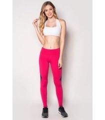 legging fitness pororoca-pulsante/ marinho ebony