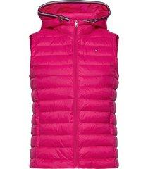 th ess lw down vest vests padded vests roze tommy hilfiger
