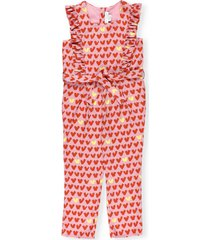 stella mccartney playsuit with hearts