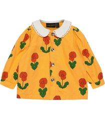 violas woven blouse blouse tuniek geel mini rodini