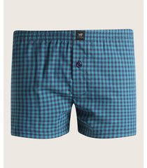 pantaloncillo boxer amplio tejido plano preteñido