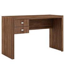 mesa para escritório tecno mobili me4123 2 gavetas