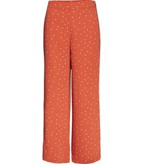 fancy trousers wijde broek oranje camilla pihl