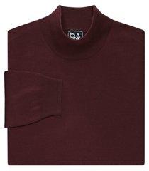 traveler collection merino wool mock neck men's sweater