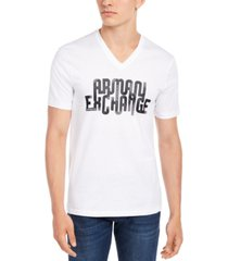 ax armani exchange men's looped logo t-shirt
