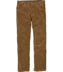 pantaloni in velluto elasticizzato regular fit straight (marrone) - bpc selection