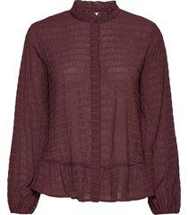 lr-layla blouse lange mouwen paars levete room