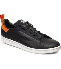 stan smith låga sneakers svart adidas originals