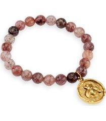 katie's cottage barn quartz gemstone beaded bracelet