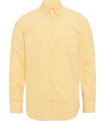 levon shirt 5082 overhemd casual geel nn07