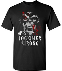 apes together strong t shirt
