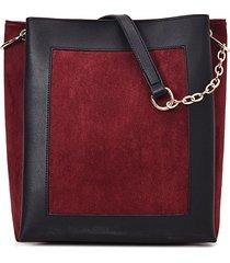 borsa per il tempo libero square shoulder borsa per le donne