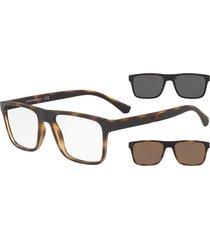 gafas de sol emporio armani emporio armani ea4115 with clip-on 58021w