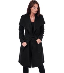 only womens phoebe drapey coat size 12-14 in black
