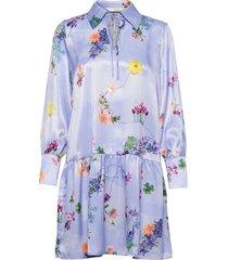 nucuba dress kort klänning blå nümph
