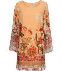 abito in chiffon (arancione) - bodyflirt boutique