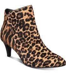 alfani women's harpper kitten-heel booties, created for macy's women's shoes
