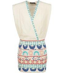 korte jurk antik batik polin