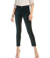 jen7 by 7 for all mankind velvet ankle skinny jeans